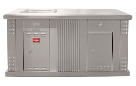 Myles Greenplate Single BBQ Cabinet