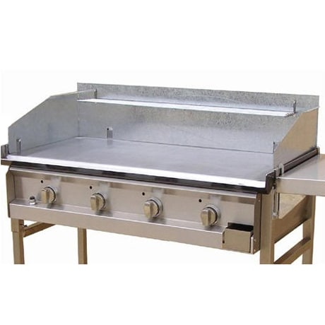 Optional Windshield & Warming Rack for Hercules Hotplate BBQ