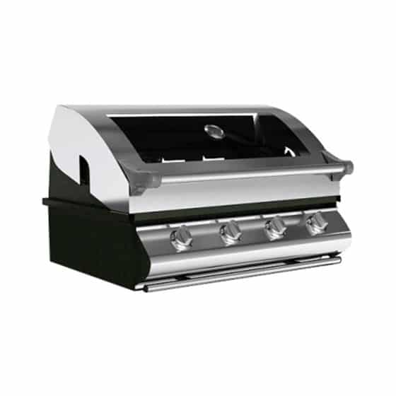 Sunco 4 Burner Built In BBQ in Vitreous Enamel