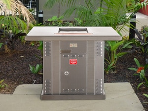 Resort BBQ Facilities - Pedestal BBQ