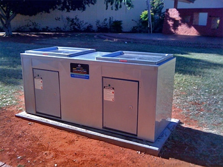 Stainless Steel Barbecue at Tennant Creek