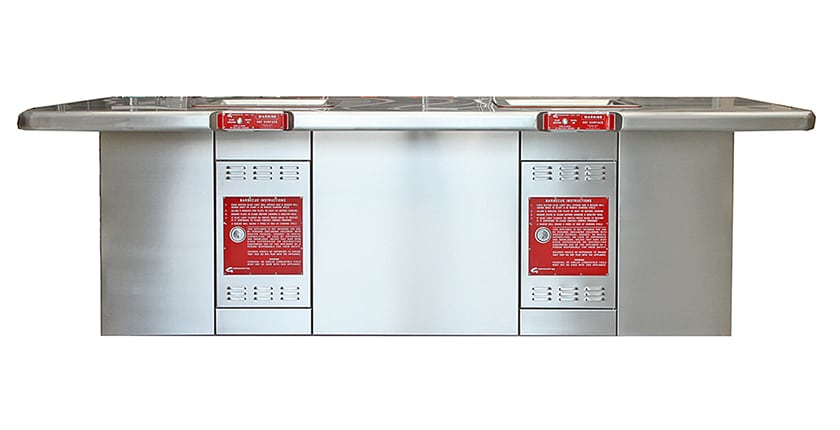 Greenplate Equal Access Double BBQ Cabinet