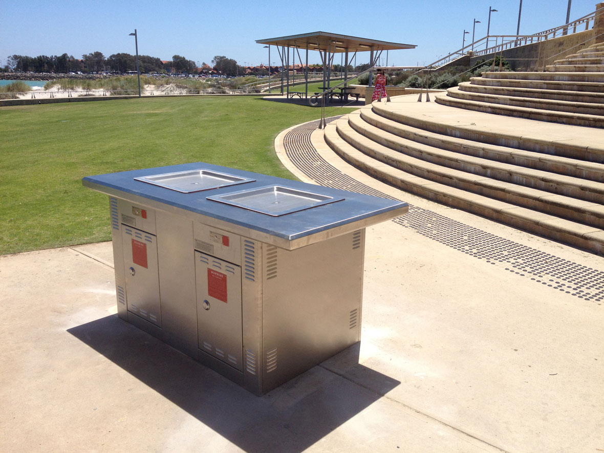 Joondalup Council WA Double Matilda Extended Top BBQ
