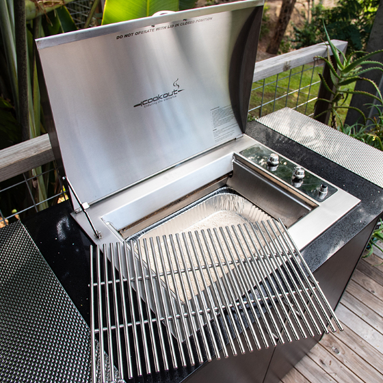 Infinity Grill Marine Grade Stainless Steel BBQ in LPG or Natural Gas