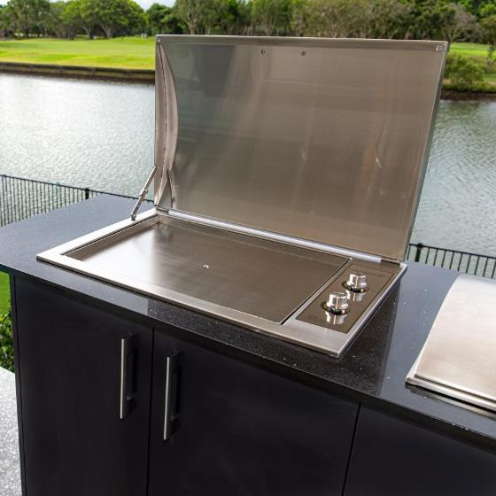 Infinity Teppanyaki BBQ Built-in Electric Hotplate for Indoor & Outdoor Use