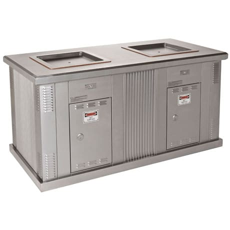 ECO-i Double Cabinet BBQ in Stainless Steel