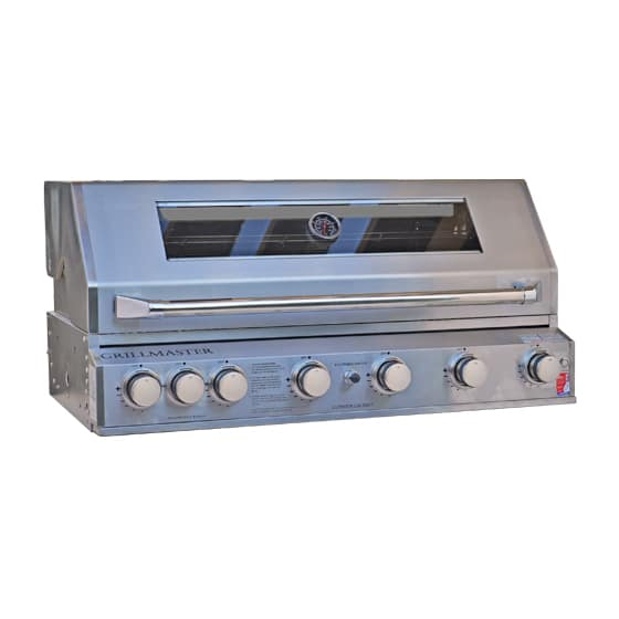 Grill Master Bbq.Grillmaster 6 Burner Gas Bbq Stainless Steel Built In Bbq