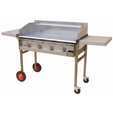 Optional Sidetables for Hercules LPG or Natural Gas Hotplate Portable BBQ